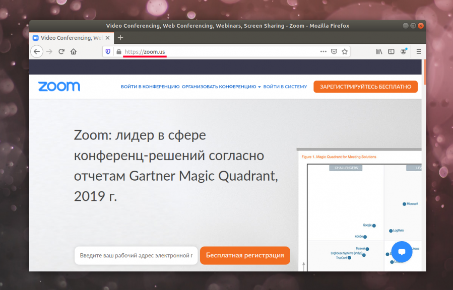How to set Zoom on Ubuntu